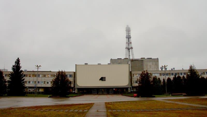 Игналинская АЭС в Висагинасе, Литва. 29-11-2019 года. Фото: ©Madeline Roache for TIME