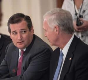 Сенаторы Тед Круз и Рон Джонсон. Фото: www.zimbio.com
