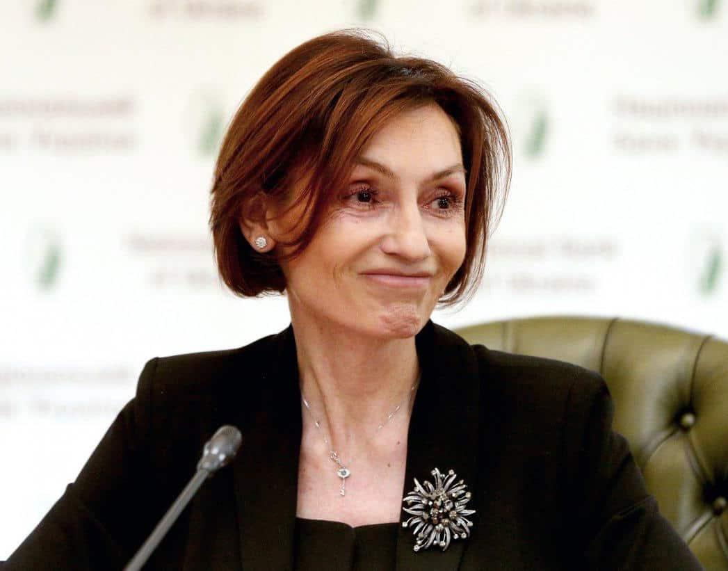 Рожкова Екатерина Викторовна - первый заместитель главы национального Банка Украины.
