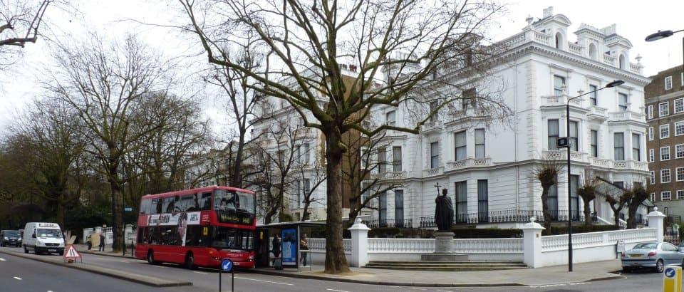 Украинский институт. 79 Holland Park, Лондон