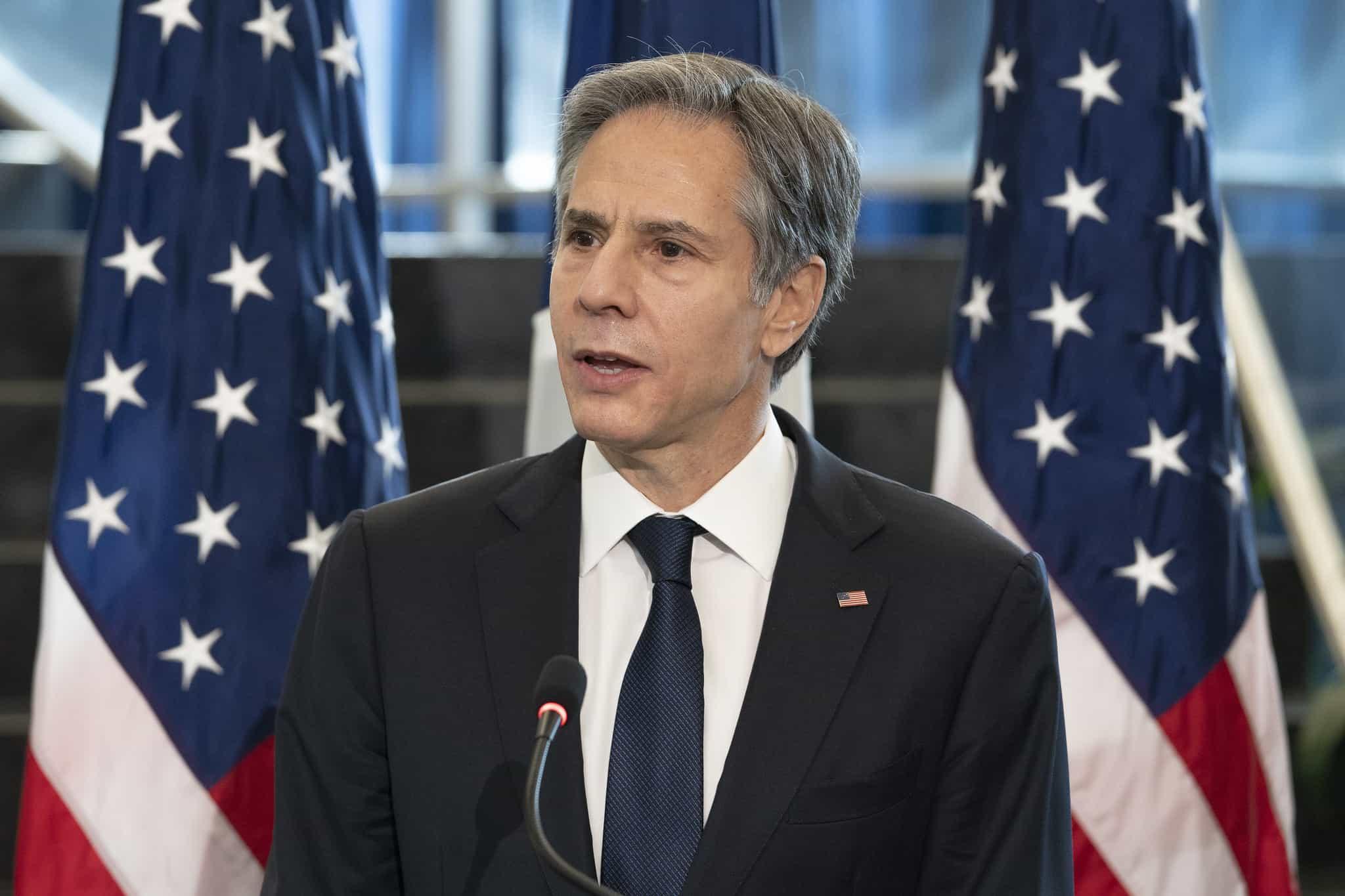 Государственный секретарь США (United States Secretary of State) Энтони Блинкен (Antony John Blinken)